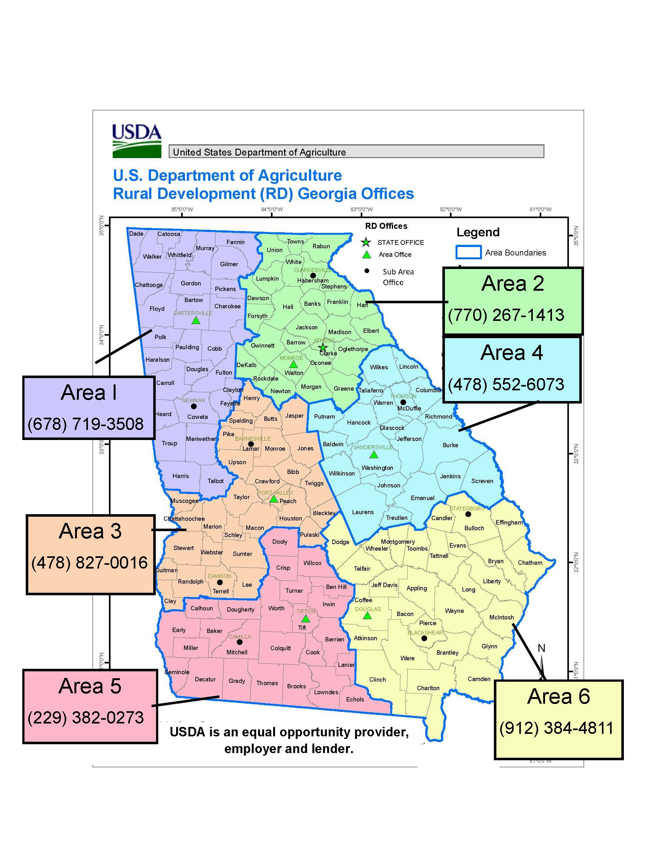 Georgia Usda Rural Development