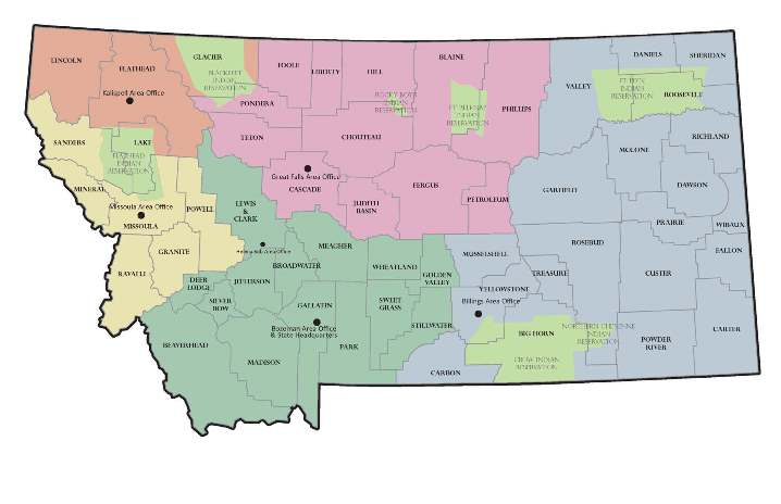 Montana Contacts USDA Rural Development - Rural development loan map oklahoma