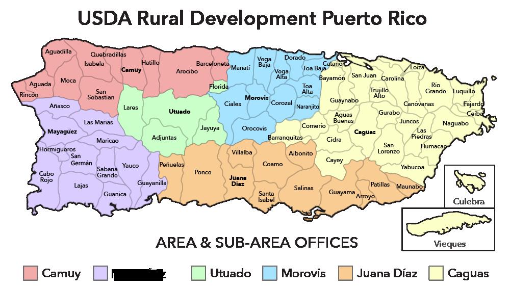 Puerto Rico Contacts Usda Rural Development