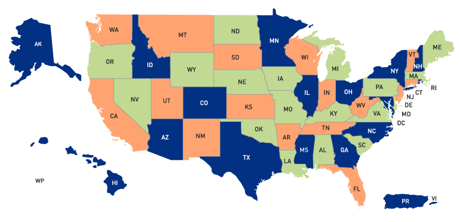 Usda Property Eligibility Map Browse by State | USDA Rural Development