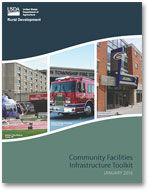 Image of Community Facilities Infrastructure Toolkit Cover