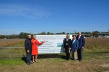 Logan-Todd Regional Water Commission expansion project ground breaking